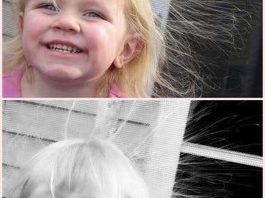 Black & White Photo Edit