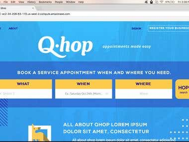 Qhop Node.JS Web Application
