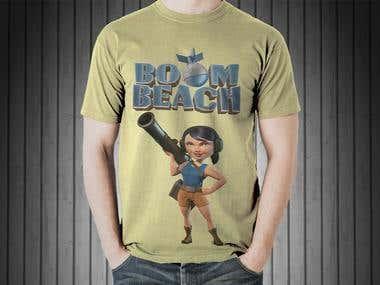 BOOM BEACH T-shirt