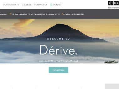 Derive Wordpress Customise Site