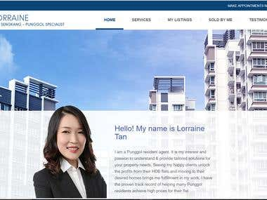 Lorriane - Real Estate Site