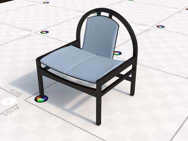 Chair - 3d modeling