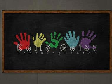 Kelly Geist Learning Center Logo Design