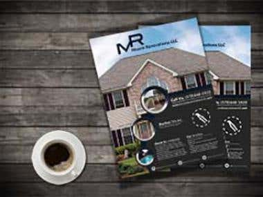 Moore Renovations LLC Flyer Design