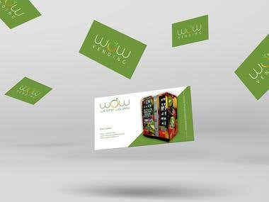 WoW Business Card Design