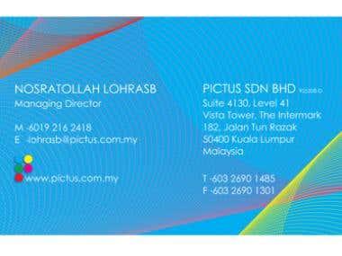Pictus Sdn. Bhd Corporate Identity