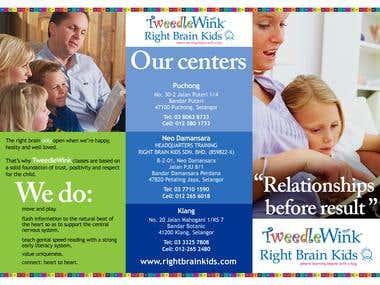 Tweedle Wink Flyer Design