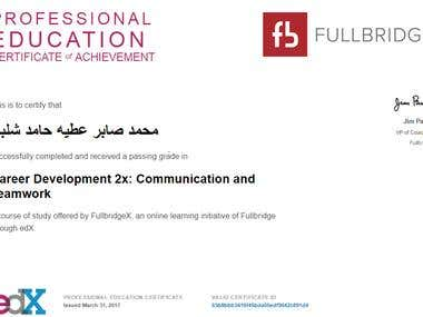 certificate in communication