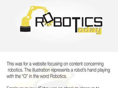 robotic today's logo