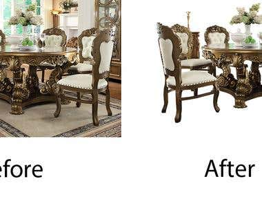 Remove Background From furniture