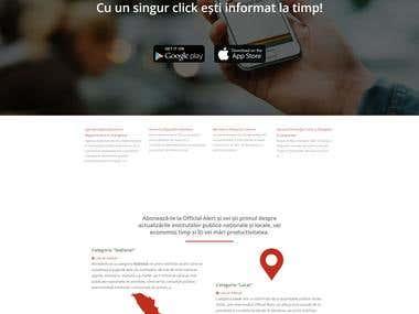 REST API for mobile application