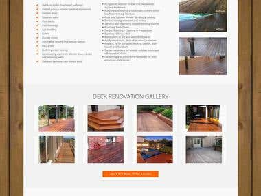 http://www.deckrevivals.com.au/ - Wordpress
