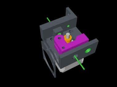 Extruder Mount for 3D printer
