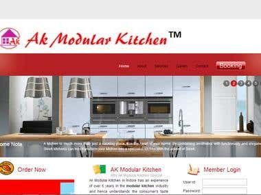 AK Modular Kitchen