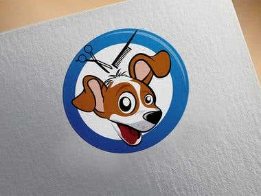 Logo Design (Dog Head)