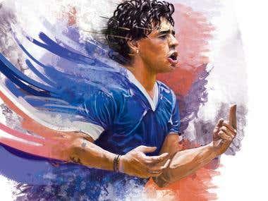 Maradona sketch