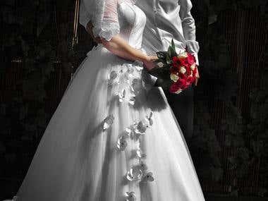 Wedding Photos, retouche.