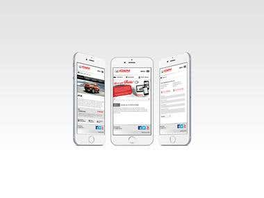 Bespoke Mobile Site Design/Development
