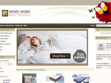 Memory Foam eCommerce