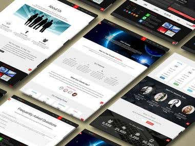 Website Design Responder Bootstrap works on all screens