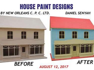 HOUSE PAINT DESIGNS