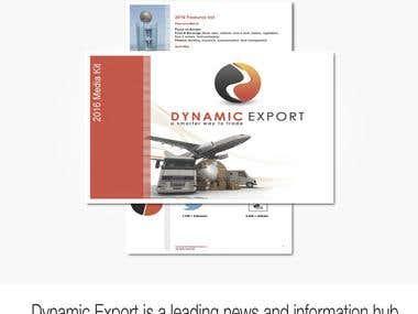 Dynamic Export Media kit