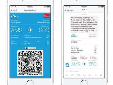 Chatbot for Airline