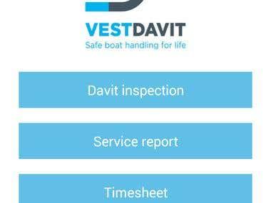 VestDavit (Pdf Generator) App