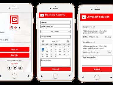 Piso Appartment service provider and maintenance App