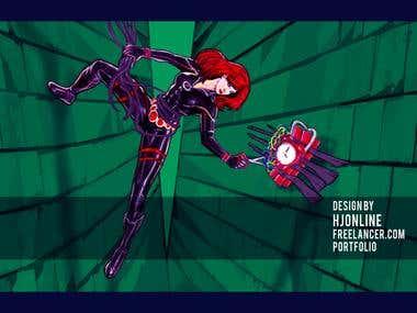 Illustrations / Concept Art / Character Design /Comic