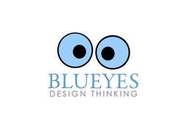 Blueyes Logo Design