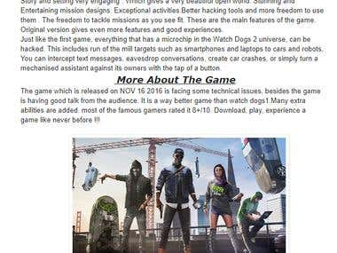 Article About Watch Dogs 2 Game Failures[Blog]