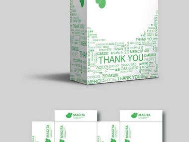 package design for customer shipment cartons.