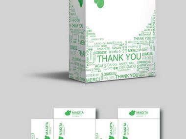 package design for customer shipment cartons.