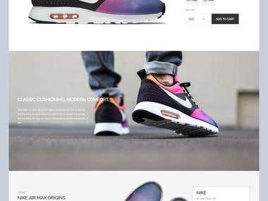 Nike one-pager