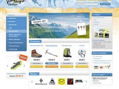 Designing,HTML Clean Code, Prestashop Theme, W3c Validated