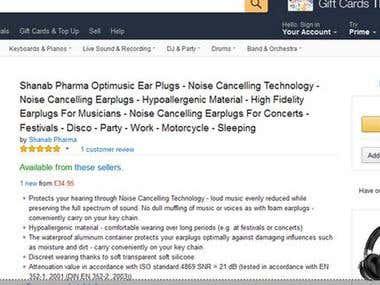 Amazon Product Promotion work