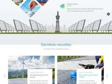 Energie (Wordpress)