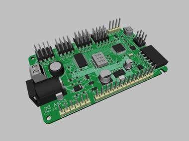 AVR micro controller board design