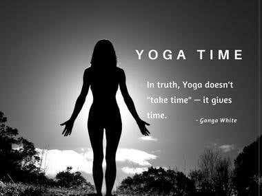 #YogaTime