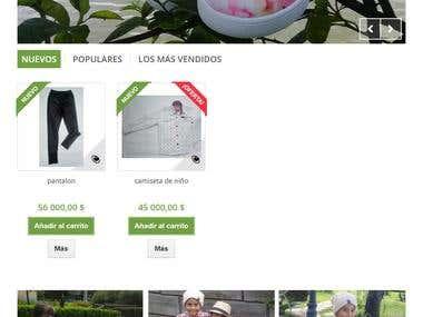 Tienda Virtual Pimpon Clothes