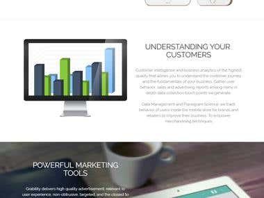 Sitio web para una empresa de desarrollo