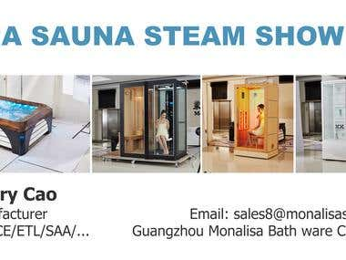 Sourcing Marketing Manufacturing of Spa Sauna Steam Shower