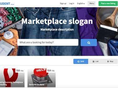 Sharetribe Marketplace Customization