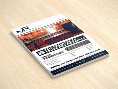 Moore Renovations LLC Print Design