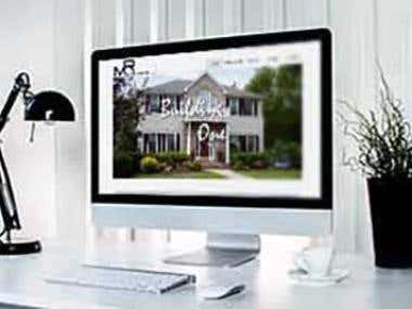 Moore Renovations MUSE Website Design