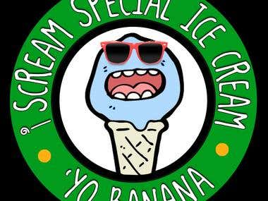 i Scream Special Ice Cream logos