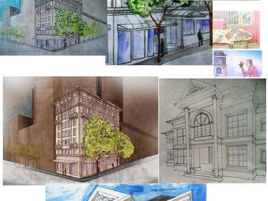 Architecture - Illustrations