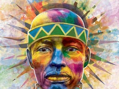 tribe man