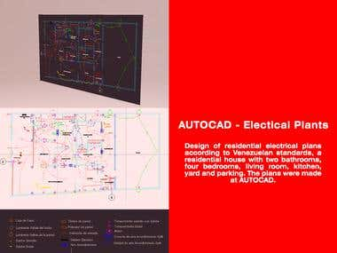 AUTOCAD - Electical Plants